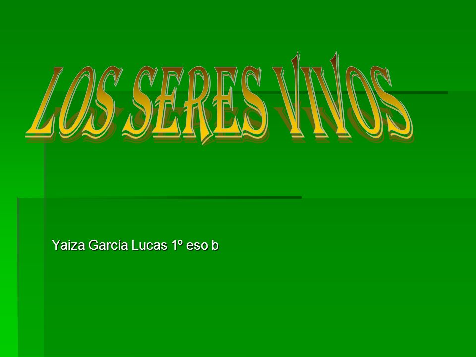 Yaiza García Lucas 1º eso b