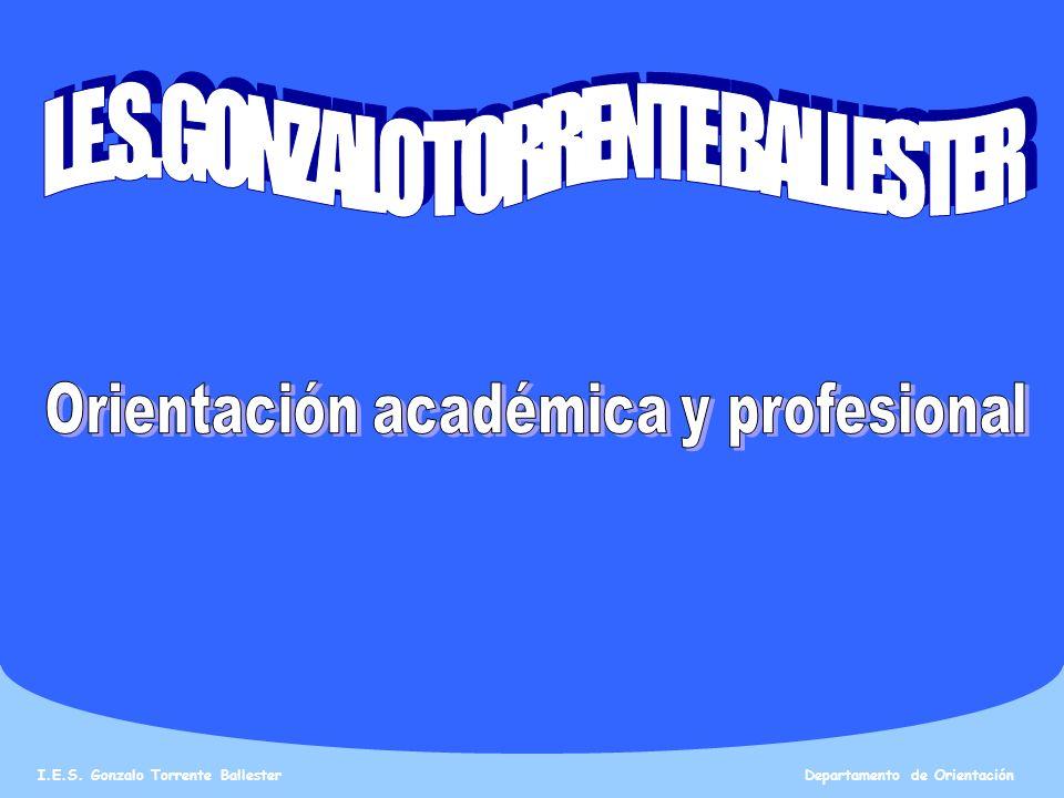I.E.S.Gonzalo Torrente Ballester Departamento de Orientación PROMOCIÓN Y TITULACIÓN EN 4º ESO.