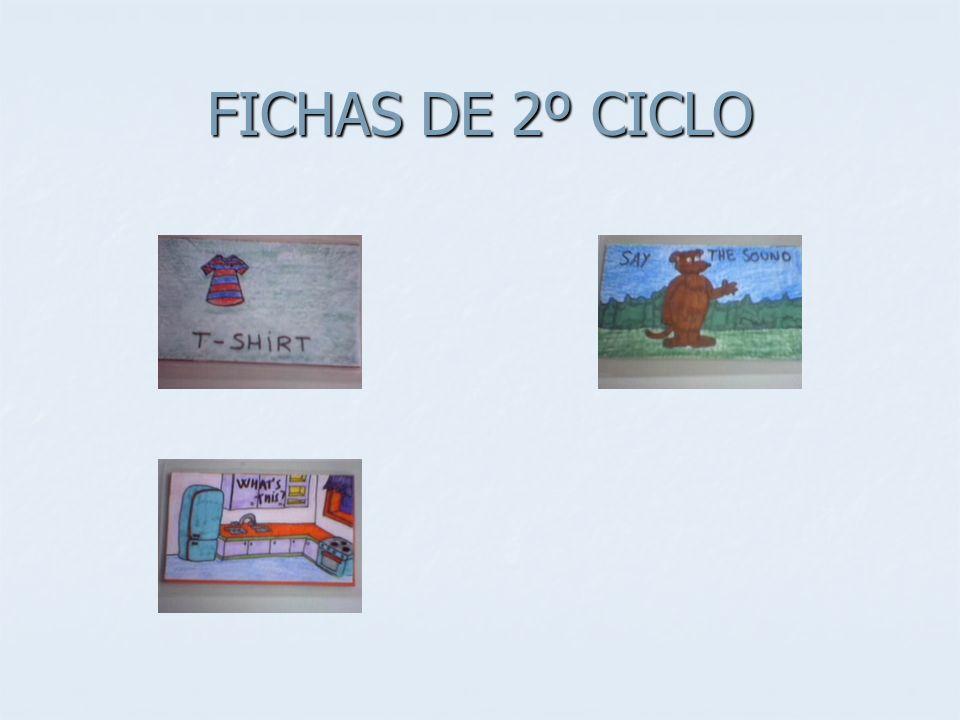 FICHAS DE 2º CICLO