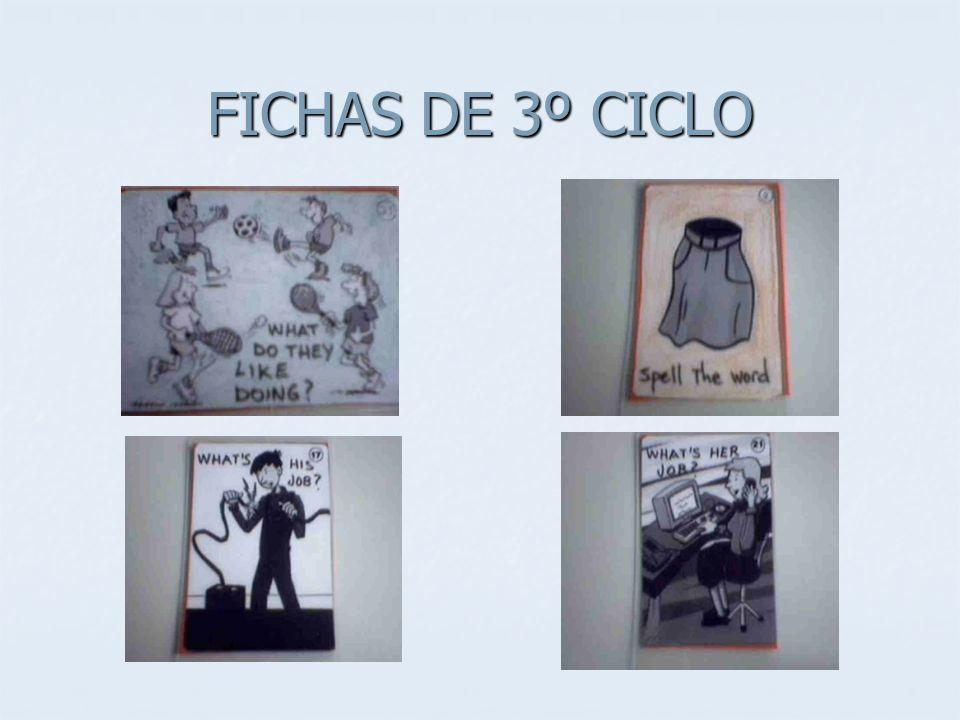 FICHAS DE 3º CICLO