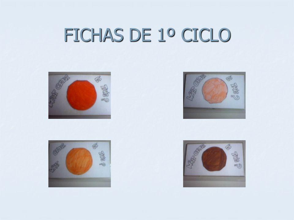 FICHAS DE 1º CICLO