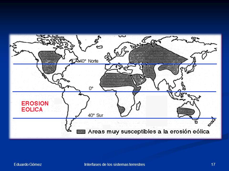 Eduardo Gómez 17Interfases de los sistemas terrestres