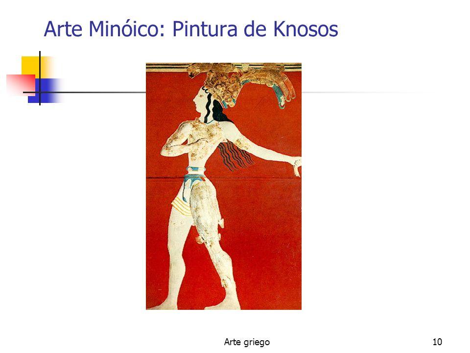 Arte griego10 Arte Minóico: Pintura de Knosos