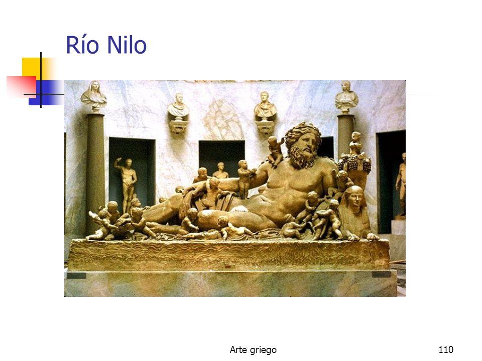 Arte griego110 Río Nilo
