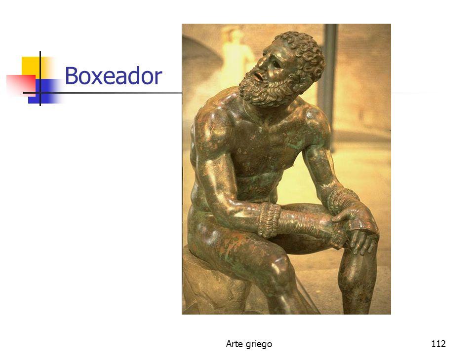Arte griego112 Boxeador