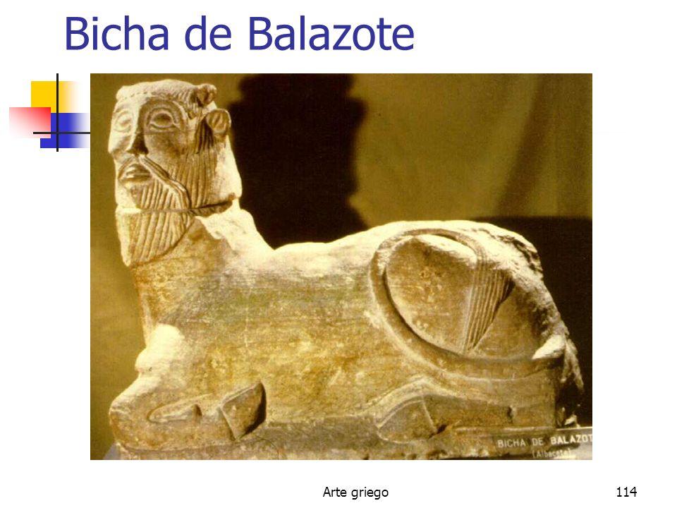 Arte griego114 Bicha de Balazote