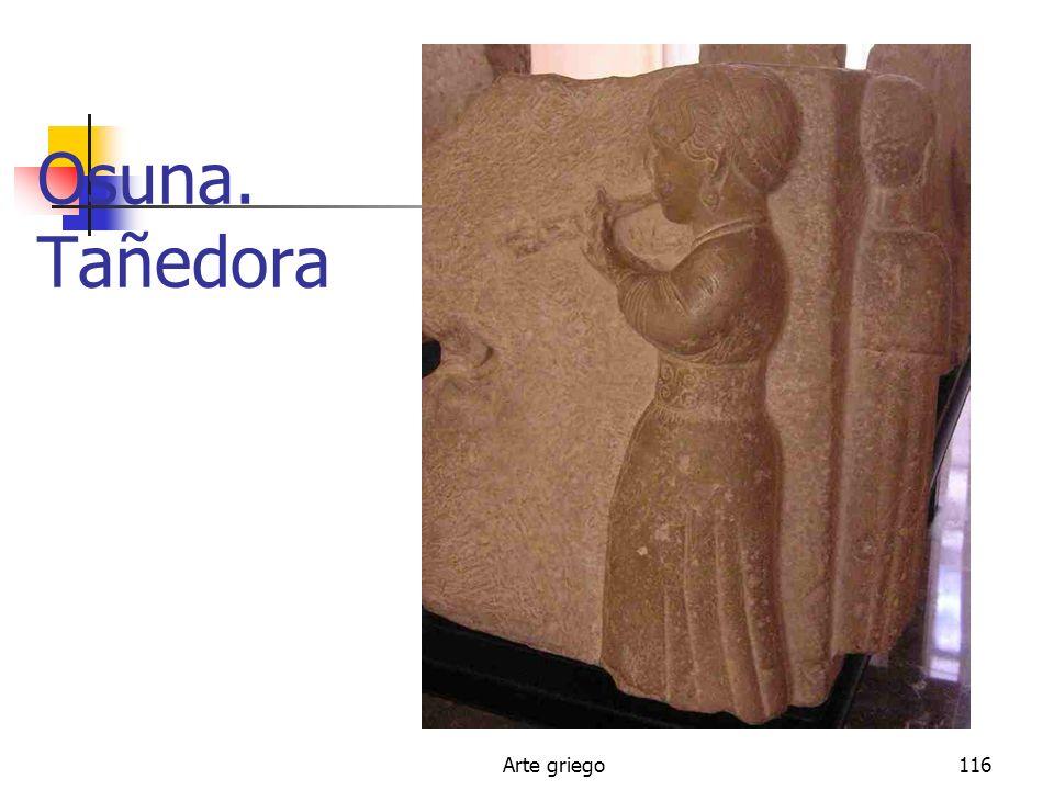 Arte griego116 Osuna. Tañedora