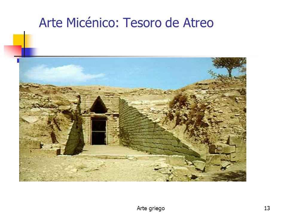 Arte griego13 Arte Micénico: Tesoro de Atreo