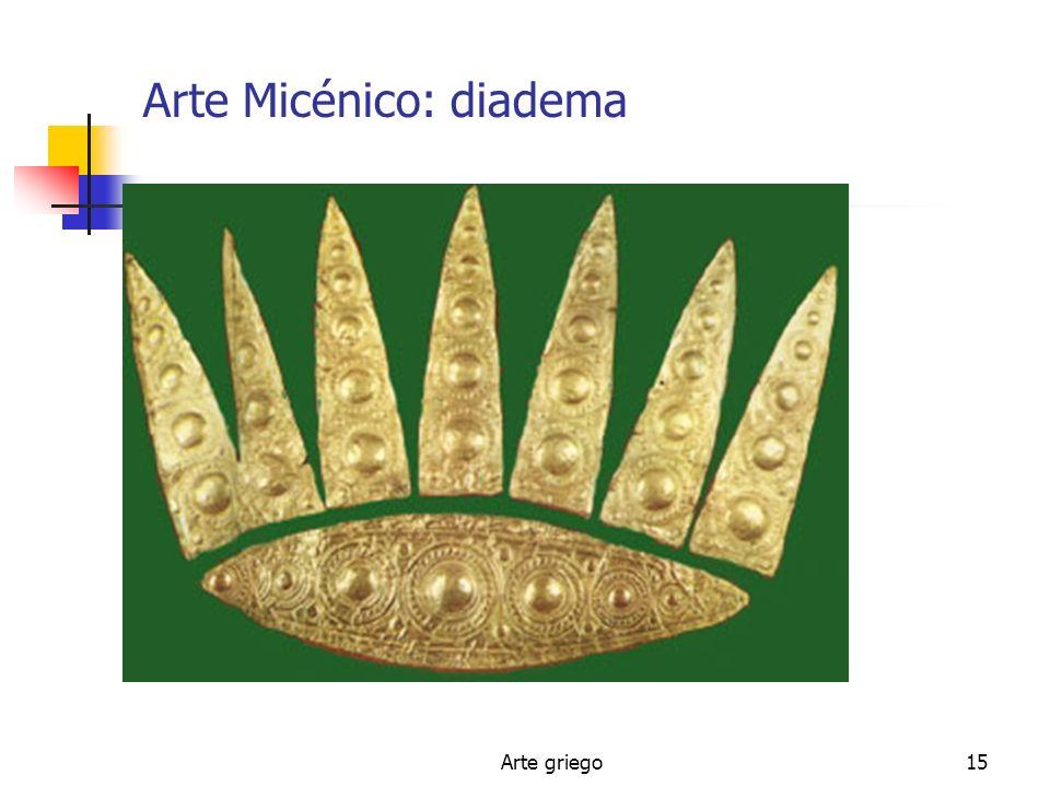 Arte griego15 Arte Micénico: diadema