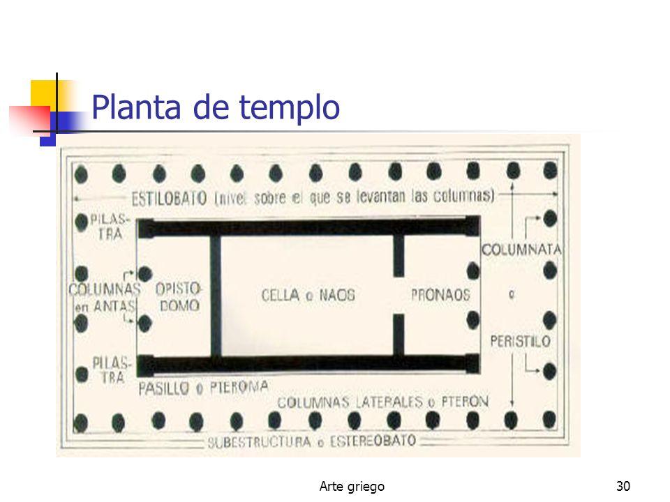 Arte griego30 Planta de templo