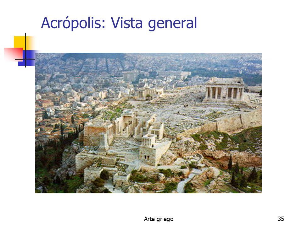 Arte griego35 Acrópolis: Vista general
