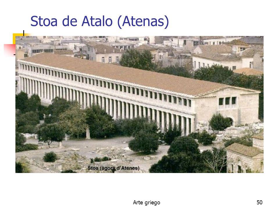 Arte griego50 Stoa de Atalo (Atenas)