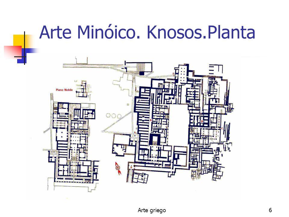 Arte griego6 Arte Minóico. Knosos.Planta