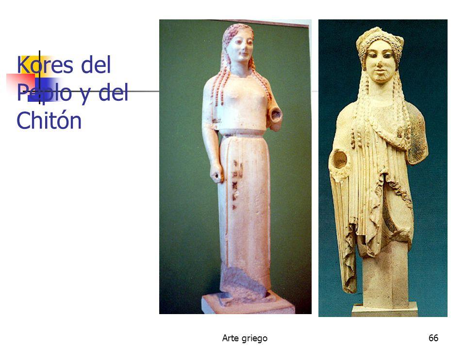 Arte griego66 Kores del Peplo y del Chitón