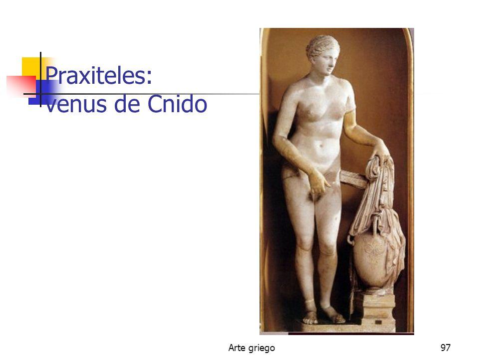 Arte griego97 Praxiteles: venus de Cnido