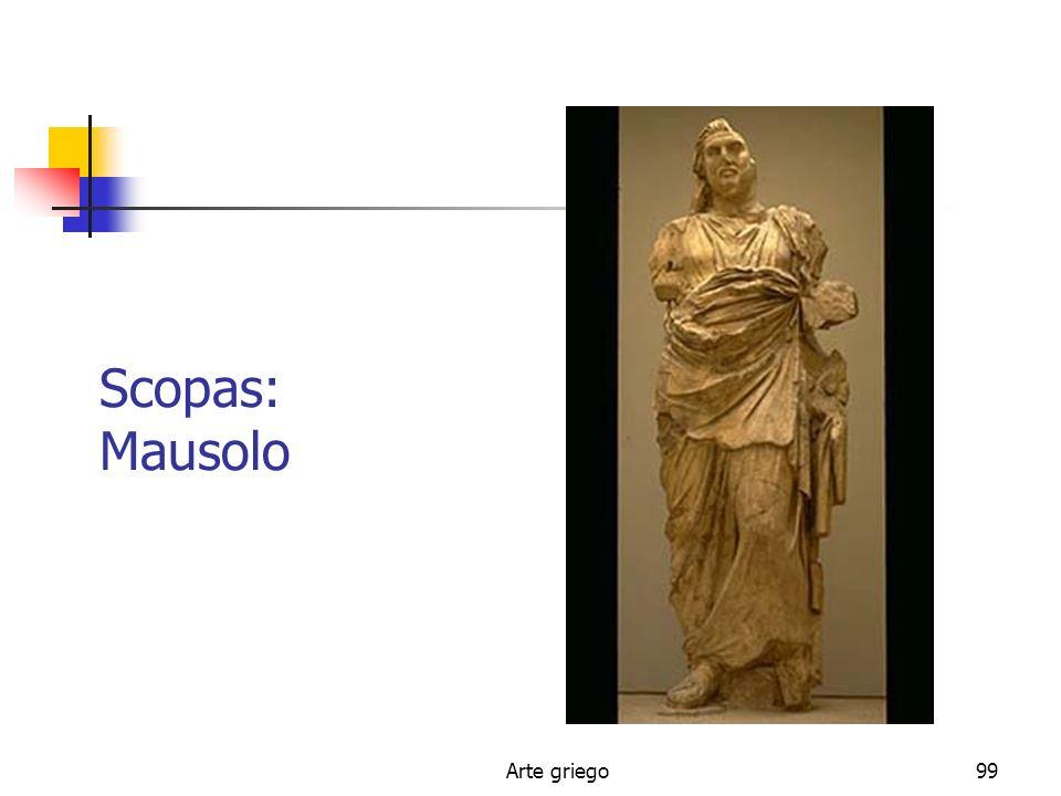 Arte griego99 Scopas: Mausolo
