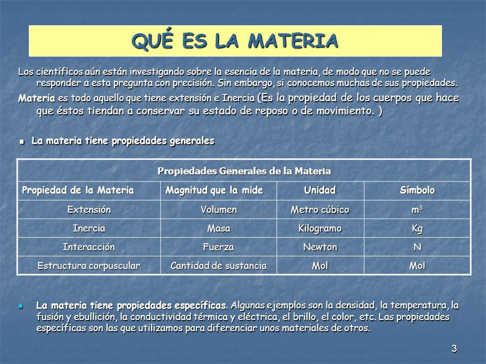 4 TRANSFORMACIONES DE LA MATERIA Y LA ENERGÍA Los cuerpos y los distintos tipos de materia sufren transformaciones que son cambios en su aspecto o en sus propiedades iniciales.