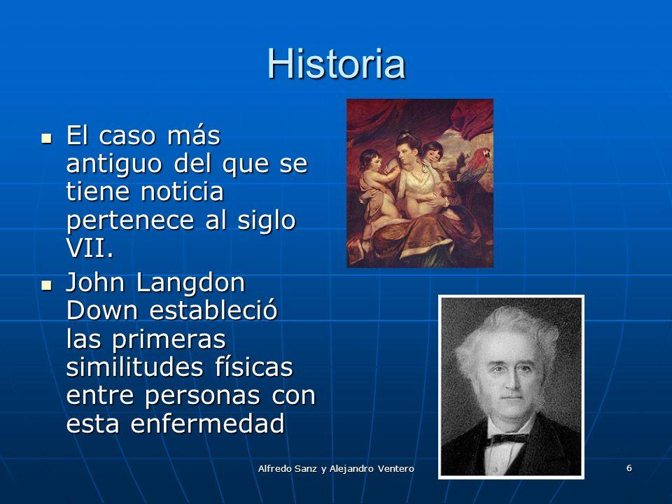 Alfredo Sanz y Alejandro Ventero 6 Historia El caso más antiguo del que se tiene noticia pertenece al siglo VII. El caso más antiguo del que se tiene