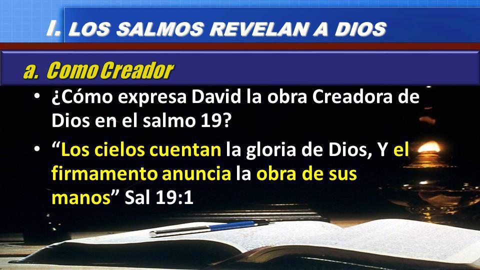 El esplendor y orden que despliega el firmamento revelan que no son el resultado de la casualidad sino obra de Dios.