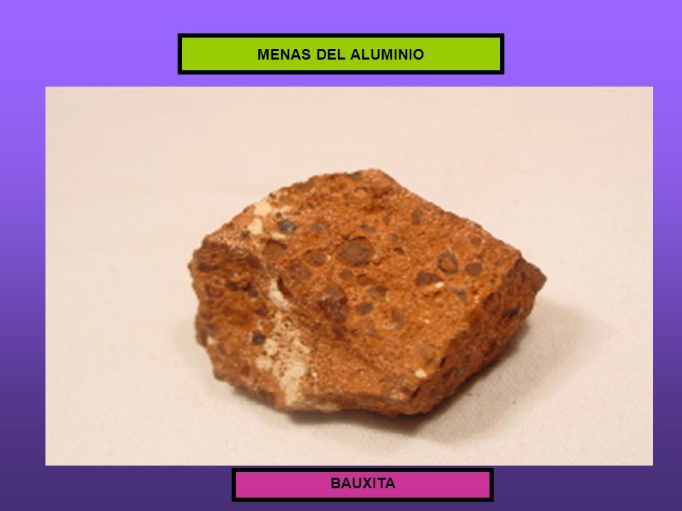MENAS DEL ALUMINIO BAUXITA