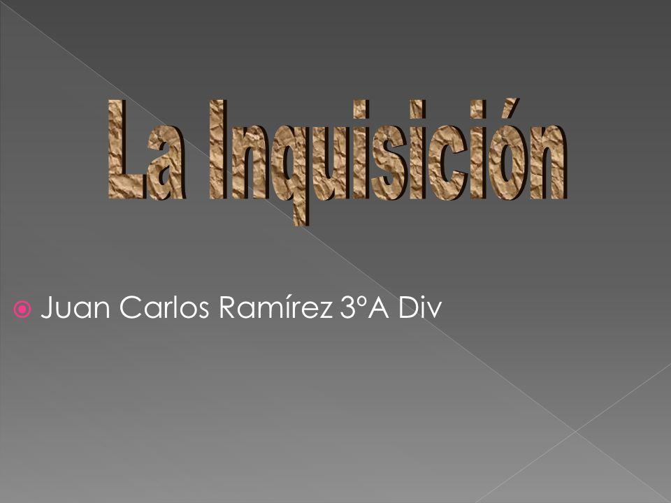 Juan Carlos Ramírez 3ºA Div