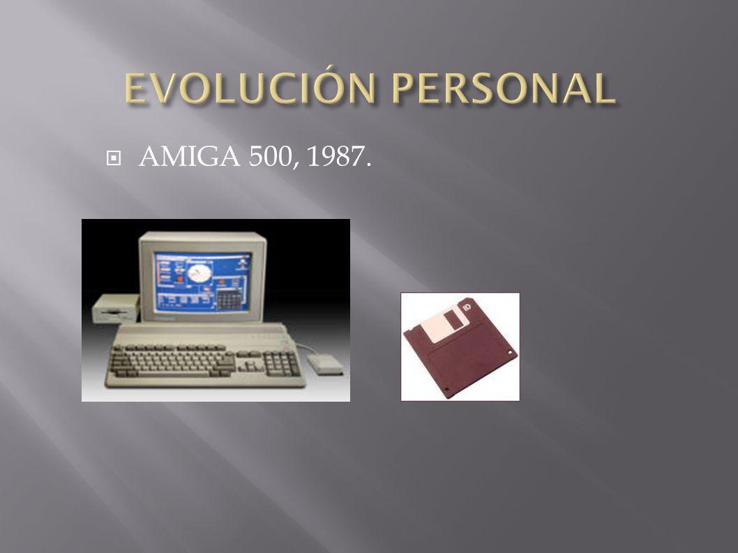 AMIGA 500, 1987.