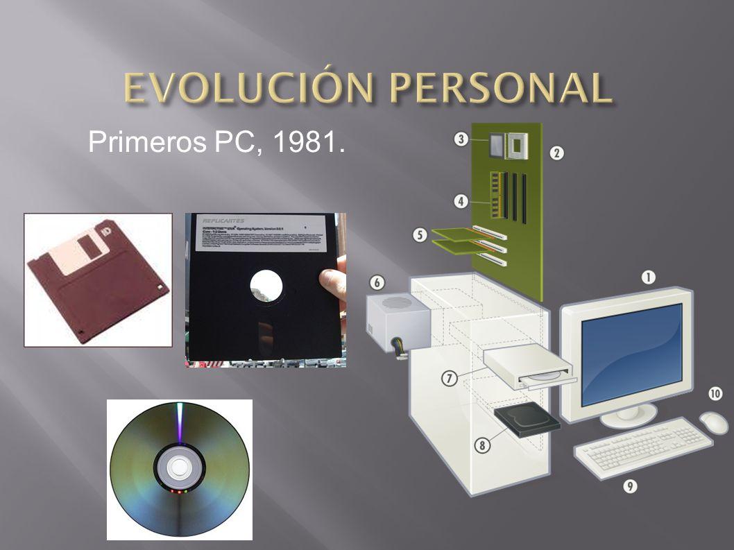 Primeros PC, 1981.
