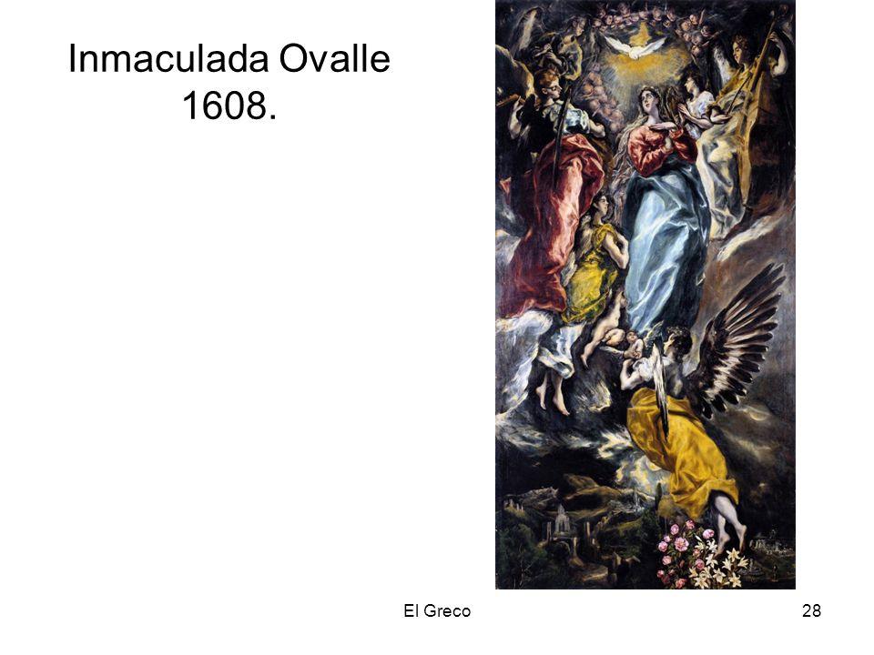 El Greco28 Inmaculada Ovalle 1608.