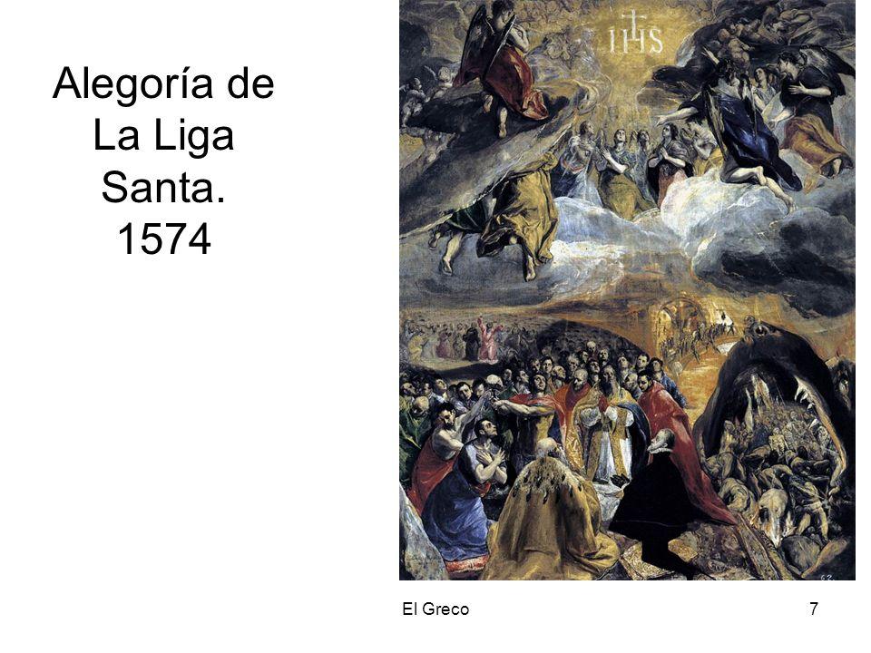 El Greco7 Alegoría de La Liga Santa. 1574