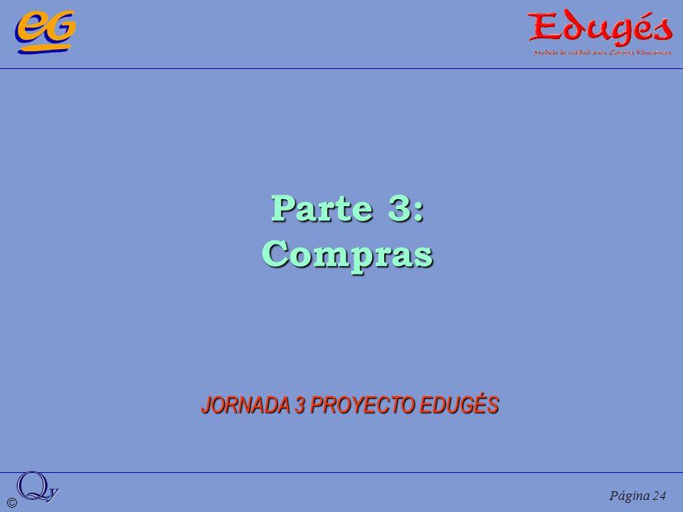© Página 24 Parte 3: Compras JORNADA 3 PROYECTO EDUGÉS