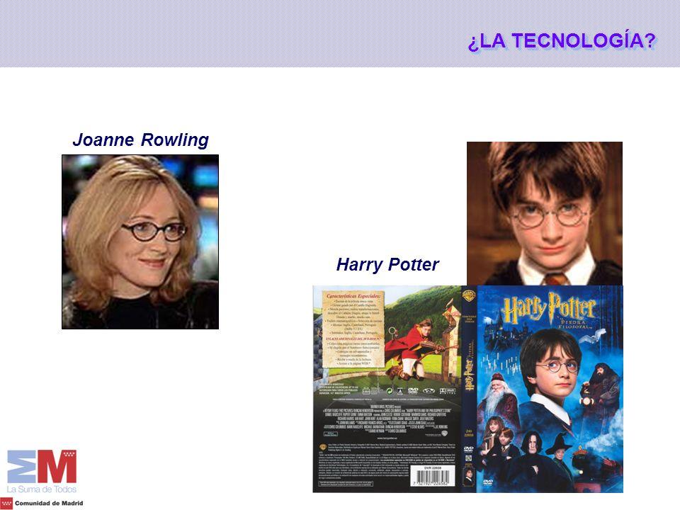 Harry Potter Joanne Rowling ¿LA TECNOLOGÍA?