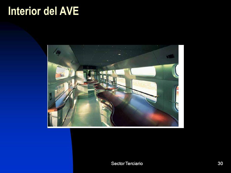 Sector Terciario30 Interior del AVE