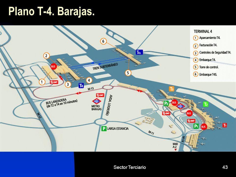 Sector Terciario43 Plano T-4. Barajas.