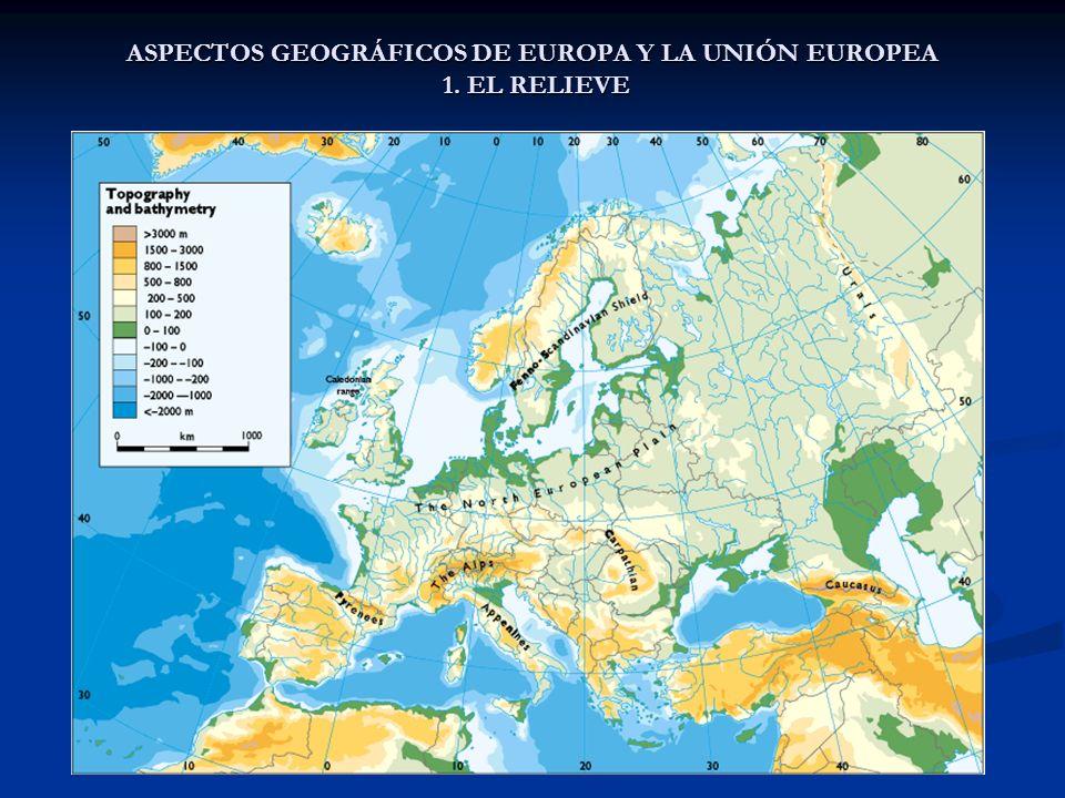 ASPECTOS GEOGRÁFICOS DE EUROPA Y LA UNIÓN EUROPEA 4. VEGETACIÓN