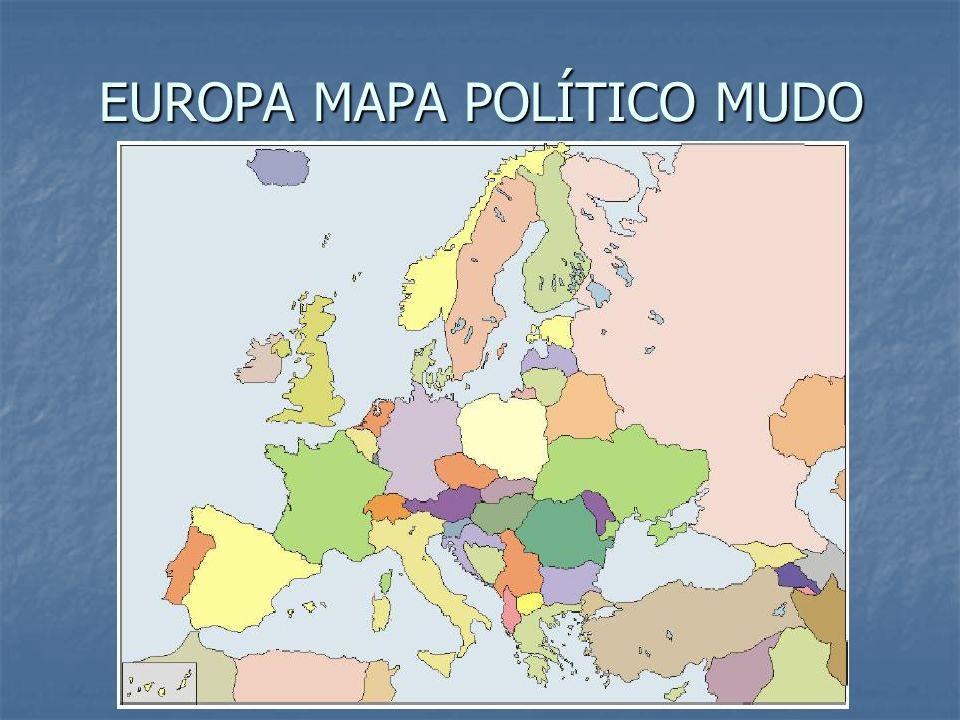 EUROPA MAPA POLÍTICO MUDO