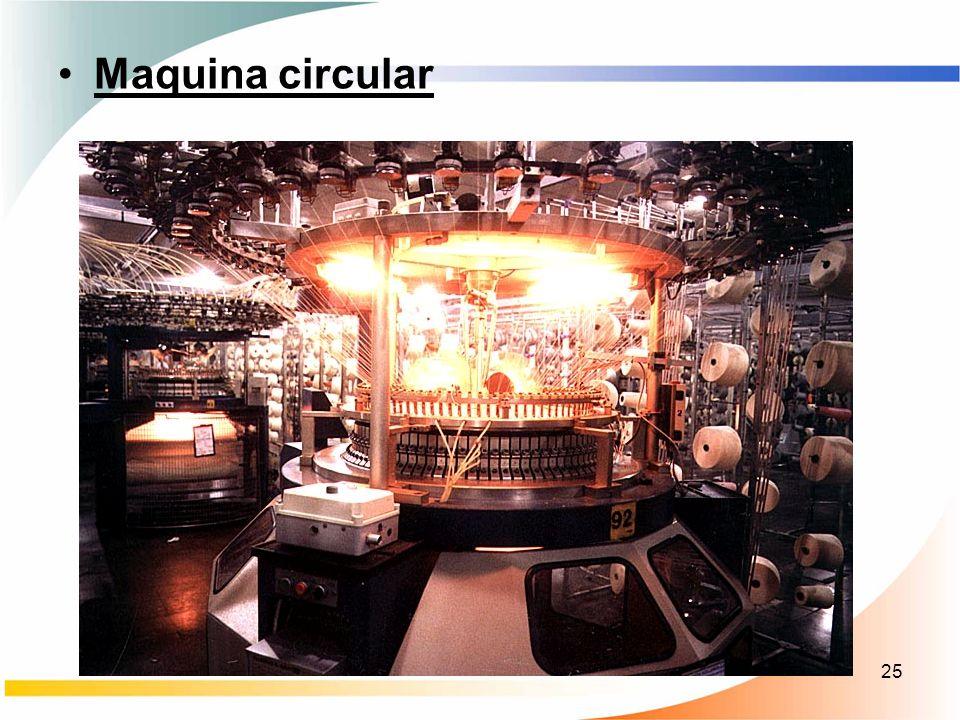 25 Maquina circular