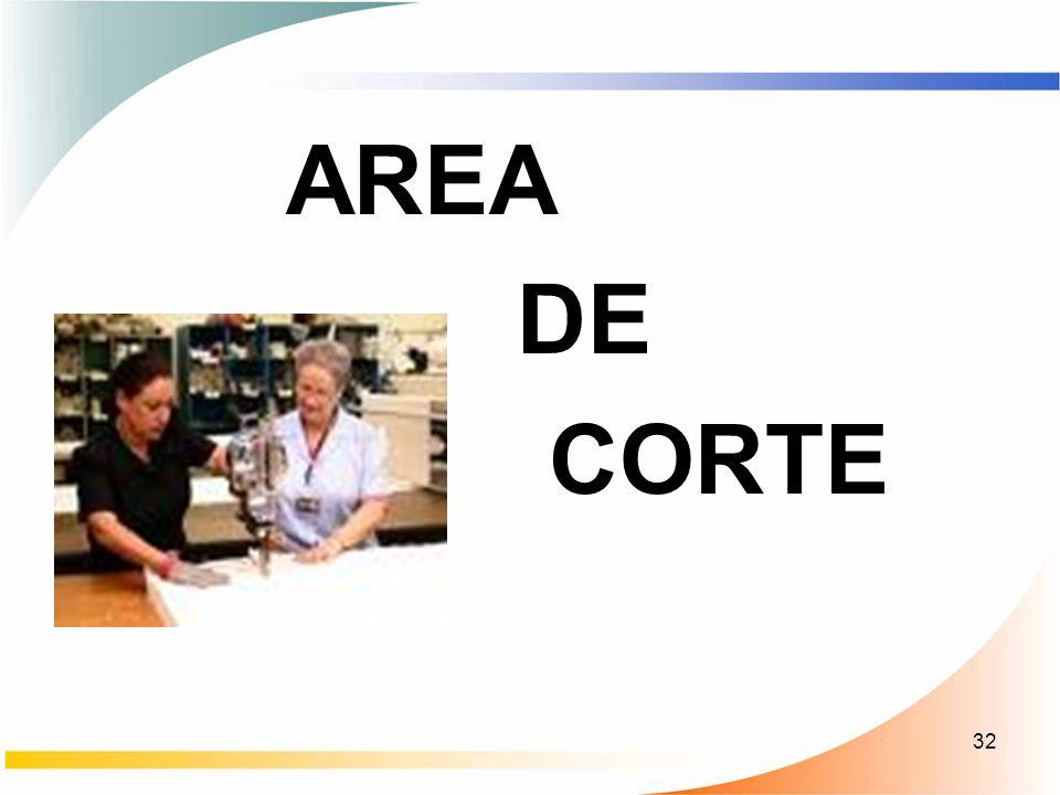 32 AREA DE CORTE