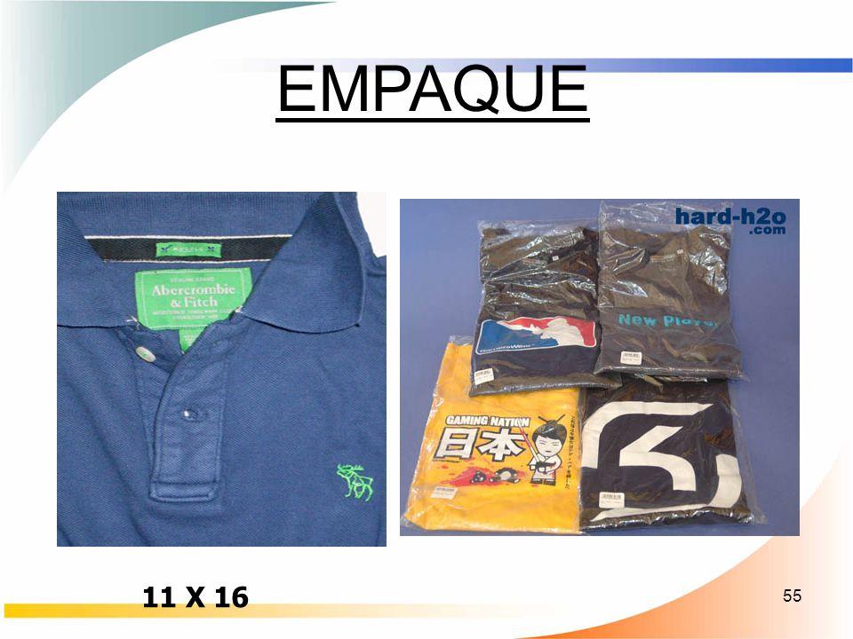 55 EMPAQUE 11 X 16