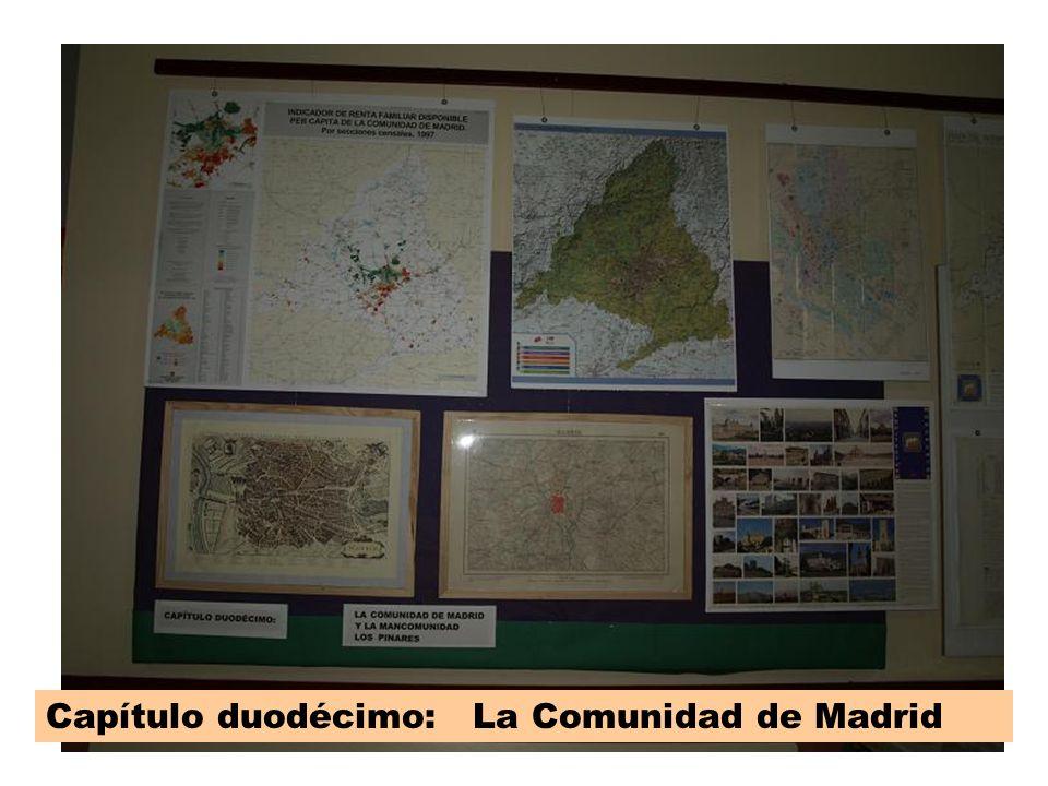 Cap 12 Capítulo duodécimo: La Comunidad de Madrid