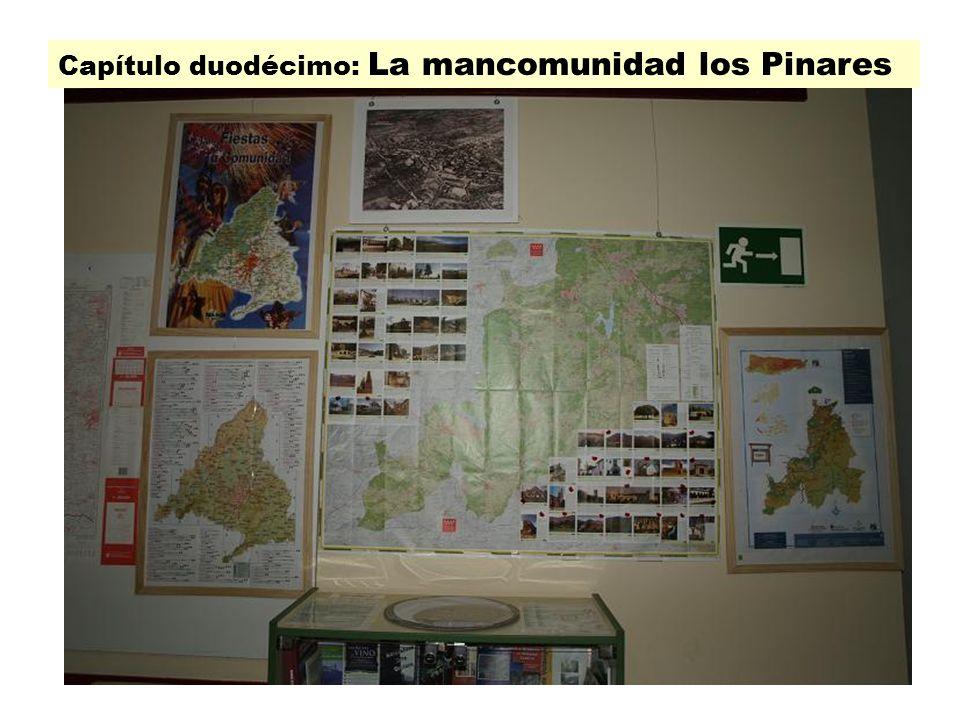 Cap 12 Capítulo duodécimo: La mancomunidad los Pinares