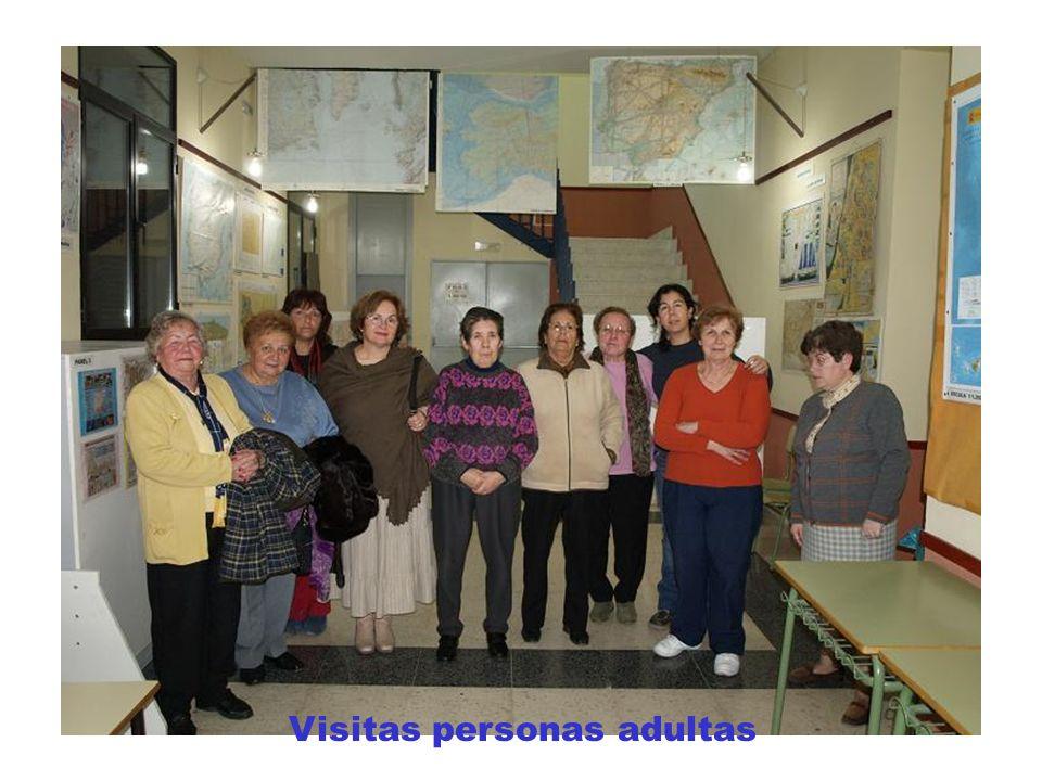Visitas adultos Visitas personas adultas