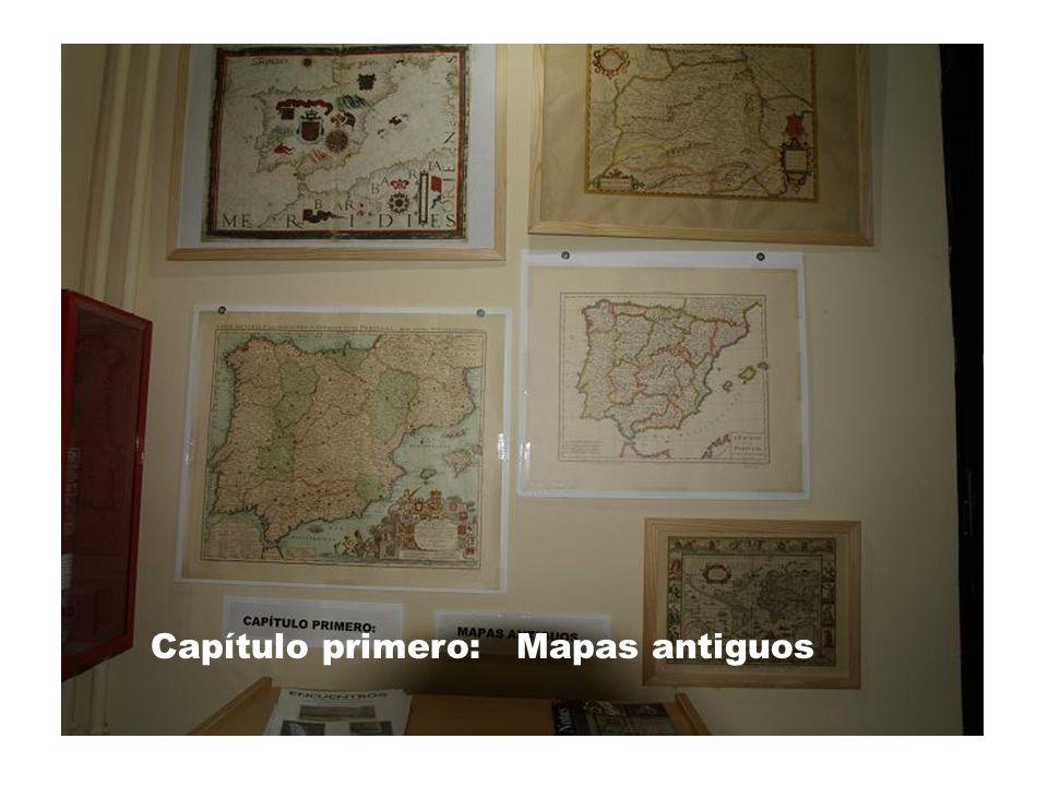 Cap 1 Capítulo primero: Mapas antiguos