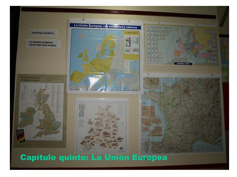 Cap 5 Capítulo quinto: La Unión Europea