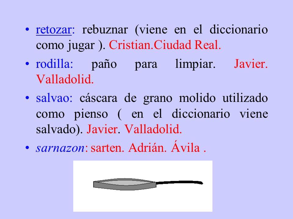 repión: peonza. Nano. Extremadura.