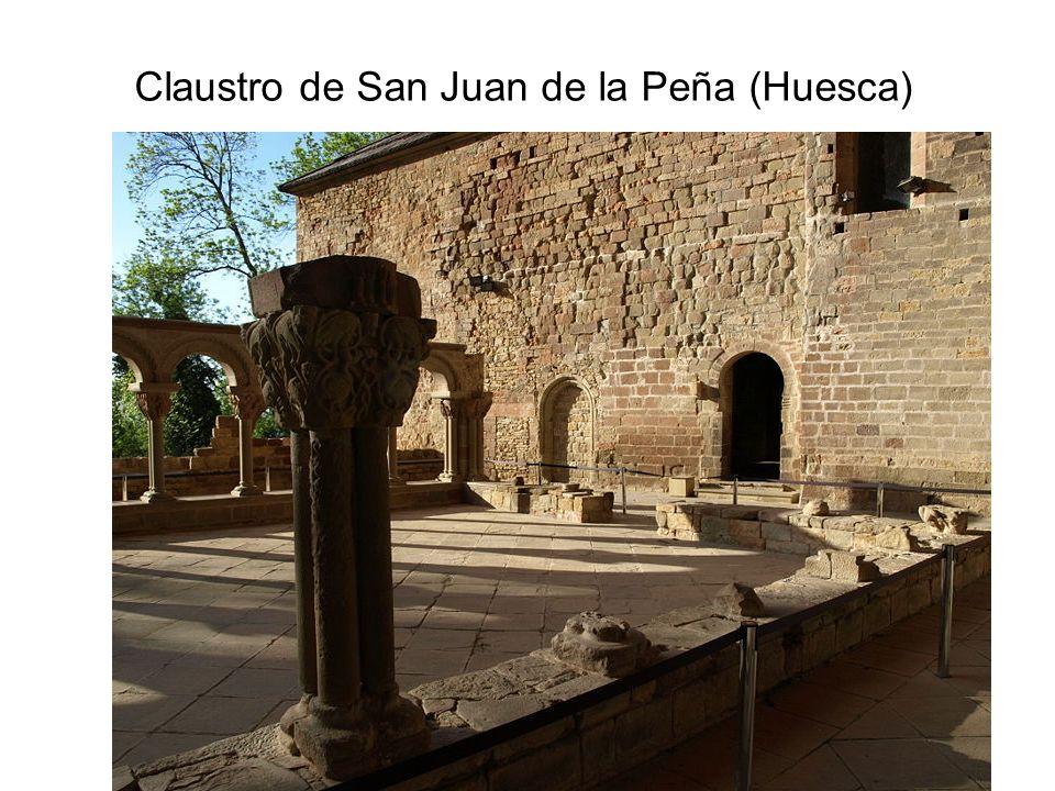 Claustro de San Juan de la Peña (Huesca)