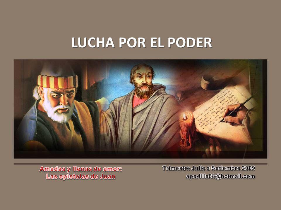 I.EL CASO DE DIÓTREFES y no contento con estas cosas, no recibe a los hermanos… 3 Juan 10 c.