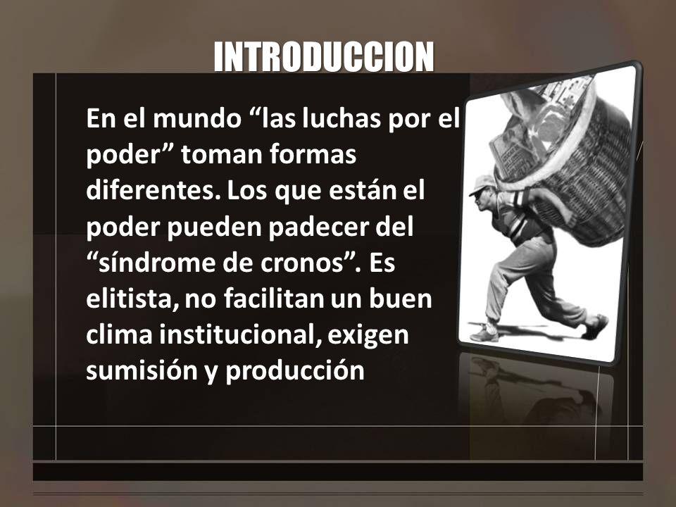 INTRODUCCION Los que sufren del síndrome de Marx.