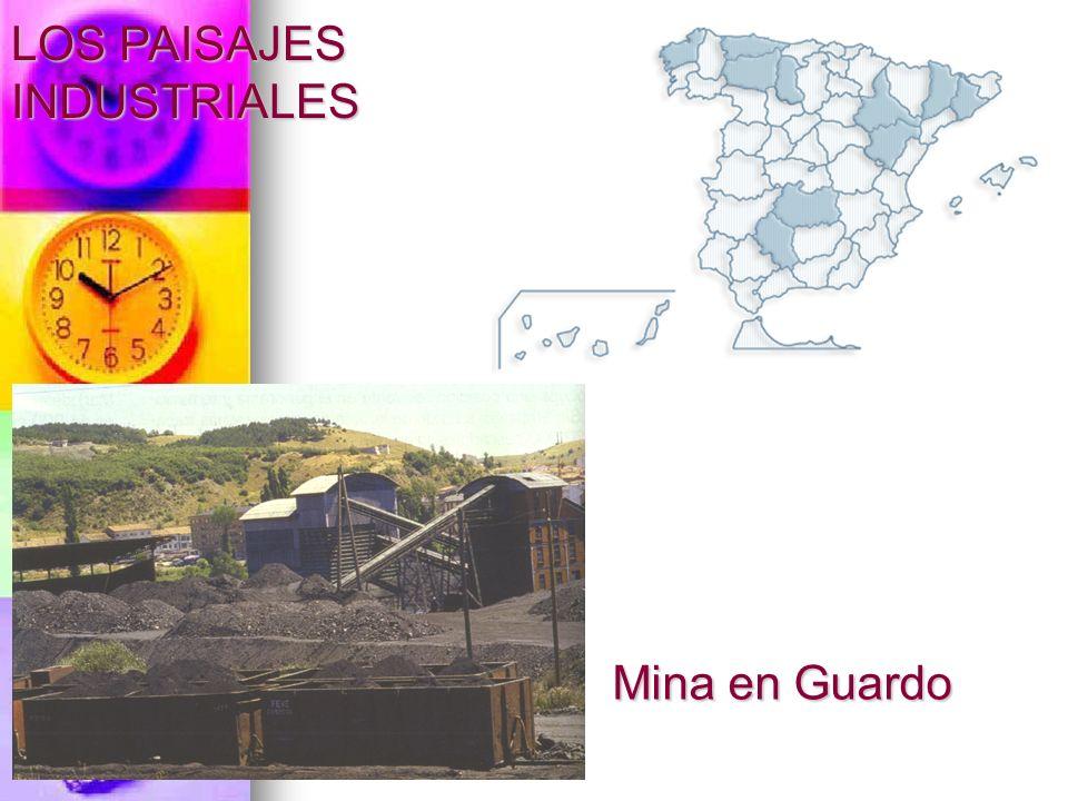 LOS PAISAJES INDUSTRIALES Mina en Guardo
