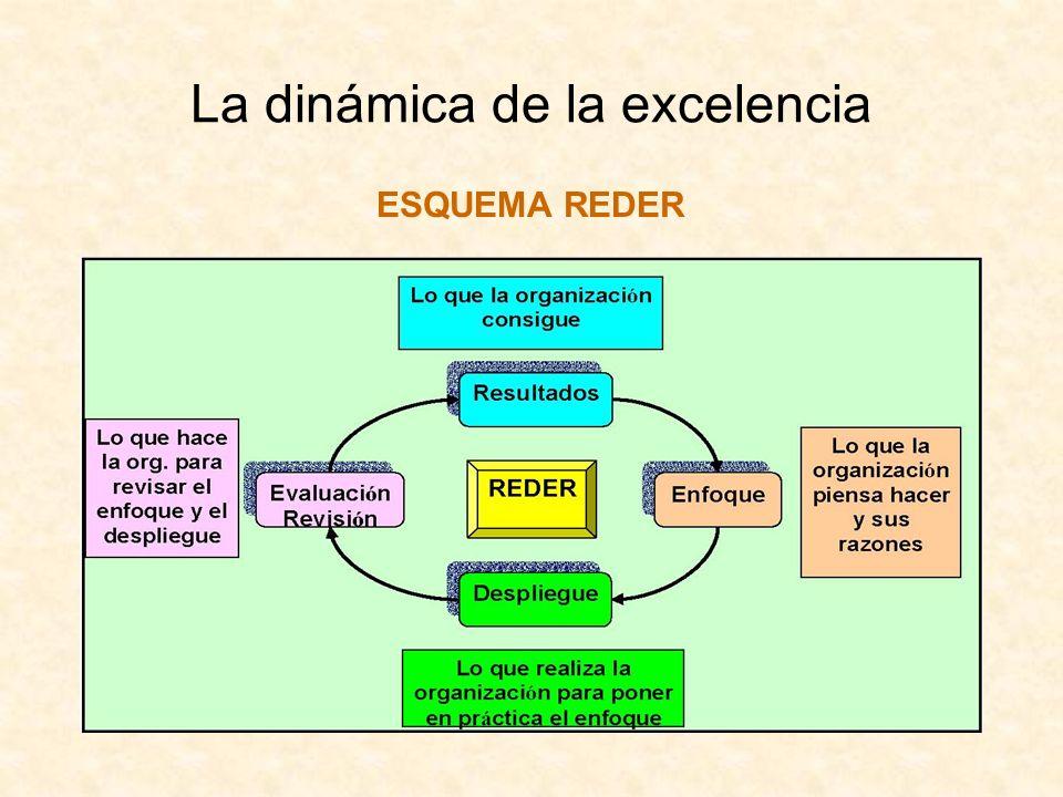 La dinámica de la excelencia ESQUEMA REDER