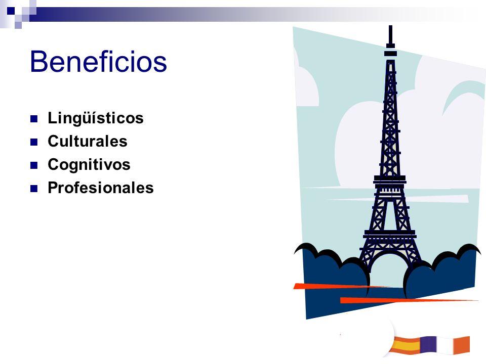 Beneficios Lingüísticos Culturales Cognitivos Profesionales